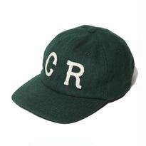 CUT RATE WOOL WAPPEN CAP GREEN CR-16AW025