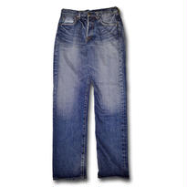 HARDEE HARD WASH DENIM PANTS WASHBLUE