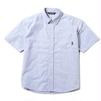 CUT RATE S/S OXFORD SHIRT BLUE