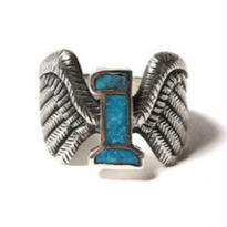 CUT RATE NO,1 WING RING SILVER  CR-17SS109