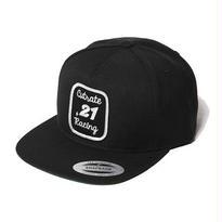 CUT RATE WAPPEN SNAP BACK CAP BLACK CR-16AW042