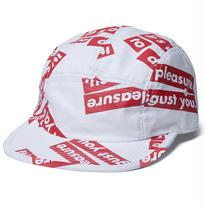 FUCT SSDD OUR PLEASURE CAMP CAP WHITE #48905