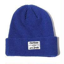 CUT RATE COTTON KNIT CAP BLUE CR-17SS010