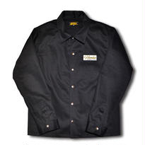 HARDEE MACK COACH JACKET BLACK