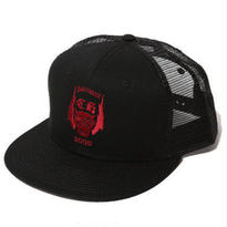 CUT RATE EMBROIDERY MESH CAP BLACK CR-17SS063