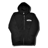 HARDEE NO CARE ZIP HOOD BLACK