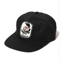 CUT RATE TWILL WAPPEN CAP BLACK CR-16ST068