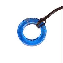 Circle Pendant Blue / サークルペンダント 青