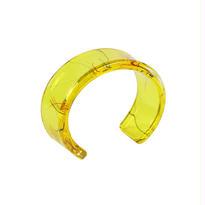 Oval Bangle Yellow / オーバルバングル イエロー