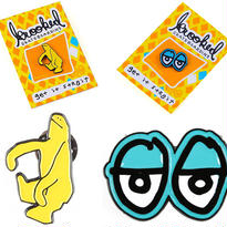 KROOKED  SHMOO & EYES PINS