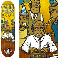 ANTI HERO ROBBIE RUSSO WHERE ARE THEY NOW DECK  (8.06 x 31.8inch)