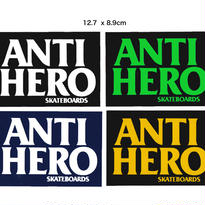 ANTI HERO  BLACK HERO STICKERS