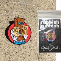 RUBBISH RUBBISH  SEAN CLIVER PAISLEY1 PINS