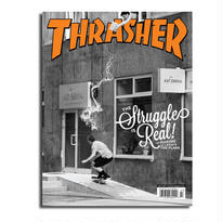 THRASHER MAGAZINE ISSUE #444 2017 JULY