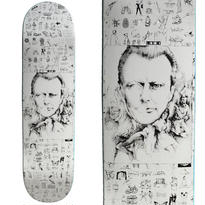 FUCKING AWESOME  KEVIN TERPENING  FATHER TERP DECK  (8.18 x 31.7inch)