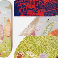 ATLAS x THOMAS CAMPBELL  UUUMMM PAINTING DECK  (8.5 x 31.9inch)