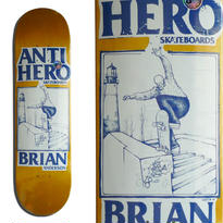 ANTI HERO  BRIAN ANDERSON  LANCE ART DECK   (8.18 x 31.85inch)