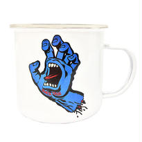 SANTA CRUZ SCREAMING HAND CAMP STAINLESS MUG CUP