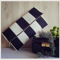 Clutch&ポーチBag/black and white