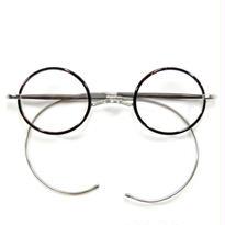 ヒムカシ眼鏡 / サンプラセル輪巻縄手眼鏡・プカプカ  ブラウン