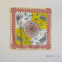 【クリックポスト】ハンカチ キャット&マウス(BJ1144WH)
