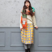 [2016AW]スカート チェックポット