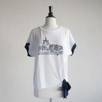 ドルマンリボンTシャツ とら(NH1607A)