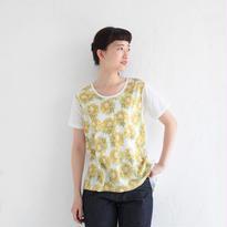 [2017SS]AラインTシャツ サンフラワー(NH1707B)