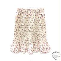 171SK02  【Mieux】花柄シャーリングスカート