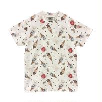 172CS28 【Unisex】アイスシナモン総柄Tシャツ