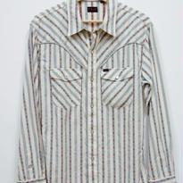 R.J.B DIAMOND&SPADEストライプウェスタンシャツ CW113L