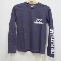 フラットヘッド L/S Tシャツ TDL-08W「LEATHER」