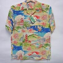 サンサーフ ハワイアンシャツ  SS37139 「ORIENTAL GRACE」