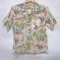 サンサーフ コットンリネン オープンシャツ SS37263 「PA'U RIDER」