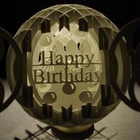 スフィア『バースデーケーキ』LEDキャンドルセット