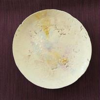 四寸皿 ④一点もの、神谷麻穂(高岡)