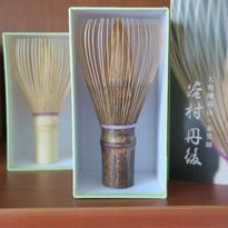 大和國高山茶筅(Bi's オリジナル)黒竹色糸3色、谷村丹後