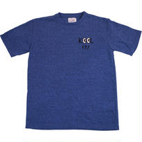 HANDLE EMBROIDERY MASSAGE TEE - MIX NAVY