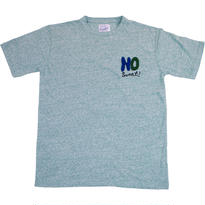 HANDLE EMBROIDERY MASSAGE TEE - MIX GREEN