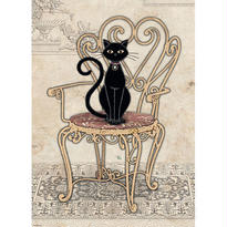 Cats, Chair  :  Jane Crowther - 29535