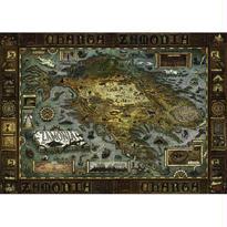 Zamonia, Map of Zamonia  :  Walter Moers - 29622