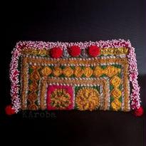 世界に一つ Banjara ポーチ《ep2a》刺繍&ビーズ