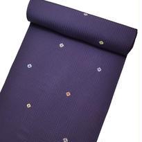 絞り小紋 / 紫