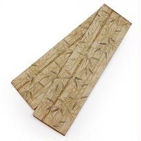 竹柄が粋な半幅帯