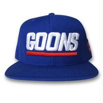 KROYWEN CLOTHING GOONS SNAPBACK CAP BLUE×WHT