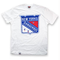 KROYWEN CLOTHING NY DANGEROUS T-SHIRT WHITE
