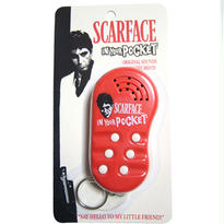 SCARFACE TALKING KEYCHAIN