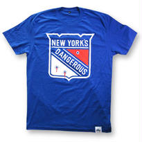 KROYWEN CLOTHING NY DANGEROUS T-SHIRT BLUE