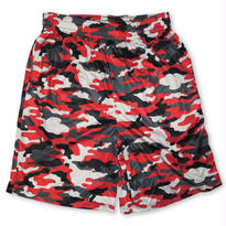 BADGER SPORT CAMO SHORT RED