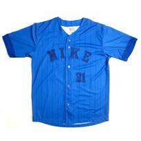 NIKE STRIPED BASEBALL JERSEY
